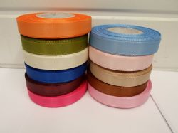*Full Roll or 2 metres x 15mm Taffeta Ribbon double sided